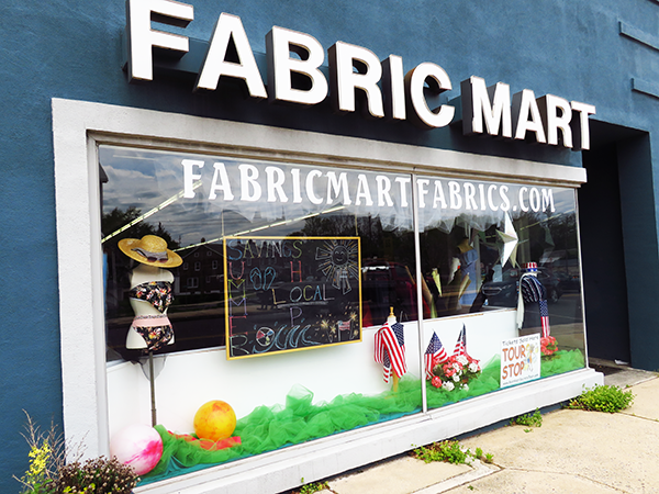 Visit Fabric Mart's Retail Store Today!
