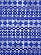 Sapphire 100% Polyester Embroidered Geometric Lace Netting 57W