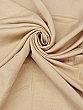 Almond Beige Rayon/Linen Shirt Weight Woven 58W