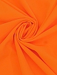 Highlighter Orange Polyester/Lycra Cady Stretch Fine Twill Suiting - NY Designer - 60W