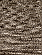 Natural Tan/Black 100% Polyester Novelty Herringbone Lacy Woven - High-End Designer Label - 53W