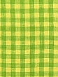 Apple/Lemon 100% Linen Gingham Shirt Weight Linen - European Linen - 58W
