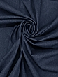 Deep Denim Blue 100% Cotton/Rayon/Spandex Stretch Denim - Imported From Japan By NY Designer - 48W
