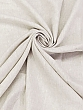 Oyster Pearl/White 100% Linen Light-Weight Yarn-Dyed Chambray Linen 58W