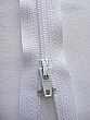 "White YKK Zipper 22"" Long Quantity of 1"