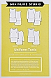 Grainline Studio Patterns - Uniform Tunic #11010 - Sizes 0-18