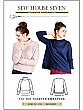 Sew House Seven Patterns - The Toaster Sweaters - Sizes XS - XXL