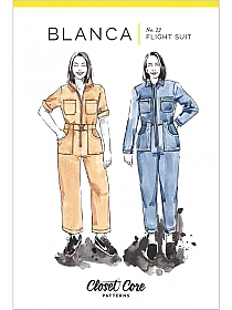 Closet Core Patterns - Blanca Flight Suit #22 - Sizes 0-20