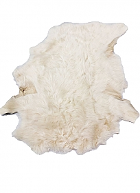 Creamy Vanilla Fur Leather Skin - J. Crew