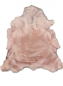 Pink Chiffon Fur Leather Skin - J. Crew