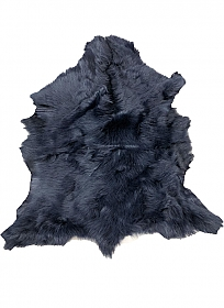 Midnight Blue Fur Leather Skin - J. Crew