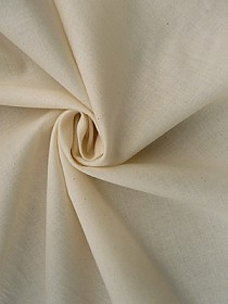 Natural Cotton Muslin 45W