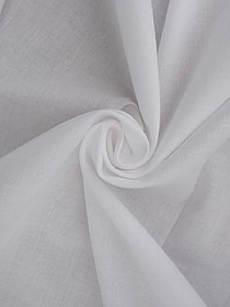 White Cotton Bleached Muslin 45W