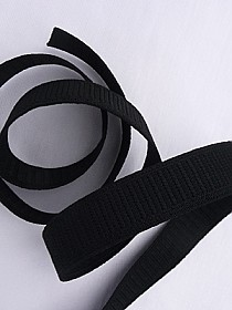 "1"" wide Black Stretchrite Elastic Non-Roll"