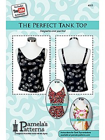 Pamela's Patterns - The Perfect Tank Top Pattern - #105