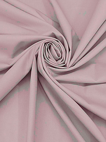 Muted Pale Mauve Wool/Polyester/Lycra Plain Weave Stretch Suiting - Imported From Italy - 60W