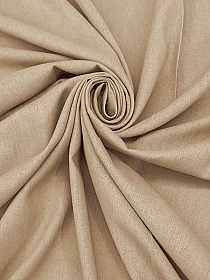 Tan Linen/Cotton Shirt Weight Woven 54W