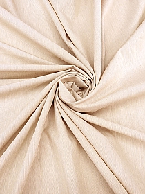 Winter Wheat Beige Polyester/Cotton Corded Shirting - 64W