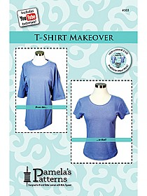 Pamela's Patterns - T-Shirt Makeover #103