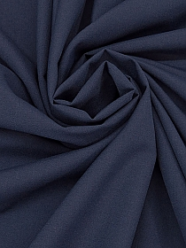 Rich Navy Nylon/Wool Plainweave Tropical Weight Suiting 61W