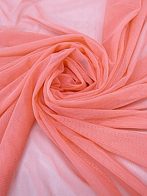 Salmon Pink Polyester/Lycra Power Mesh Knit - Better Activewear Manufacturer - 62W