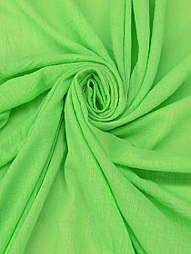 Soft Lime 100% Cotton Bubble Gauze 48W