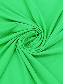 Leaf Green Polyester/Lycra Tricot Activewear Knit 62W