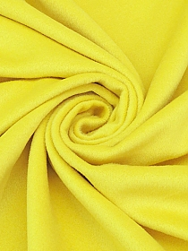 Canary Yellow Wool/Nylon/Cashmere Brushed Coating - Michael Kors - 60W