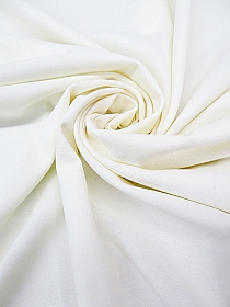 Eggshell Viscose/Nylon/Lycra Ponte Knit - Imported From Italy - 66W