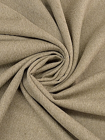 Tan/Parchment Wool/Nylon Flannel Twill 60W