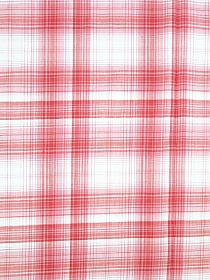 Soft Rose/Light Pink/White 100% Cotton Plaid Yarn-Dyed Voile 58W
