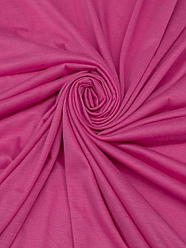 Deep Pink Polyester/Lycra Tissue Jersey Knit 56W