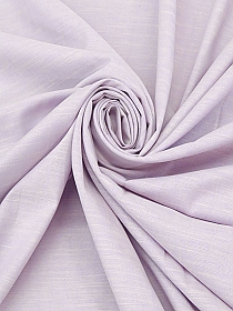 Soft Lavender/Off-White Cotton/Lycra Striated Chambray 52W