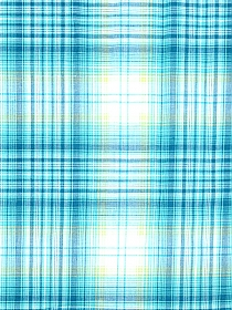 Turquoise/Pastel Yellow/White/Navy 100% Cotton Plaid Yarn-Dyed Voile 57W