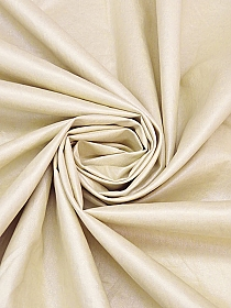 Sugar Cookie 100% Linen Glazed Jacketing - Couture NYC Designer - 58W