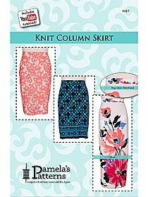 Pamela's Patterns - Knit Column Skirt #117