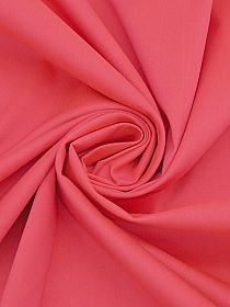 Punch Pink Cotton/Polyester/Lycra Stretch Twill Bottomweight - Imported From Italy - 46W