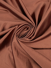 Rose Copper 100% Nylon Shiny Knit - NY Designer - 60W