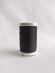 TL6419 Gutermann Thread - Large - 547 Yards - Black