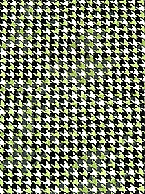 Lime/Black/White Rayon/Lycra Houndstooth Print Jersey Knit - Imported From Italy - 55W
