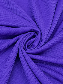 Royal Purple 100% Polyester Dri-Fit Activewear Mesh Double Knit - Nike - 59W