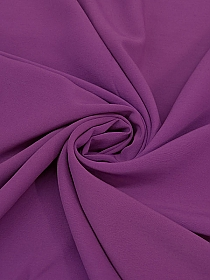 Violet Wool/Nylon Plainweave Suiting - Imported From Italy - 57W
