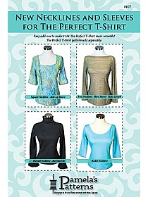 Pamela's Patterns - New Necklines & Sleeves for The Perfect T-Shirt #107