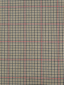 Soft Tan/Sage/Black Wool/Nylon Tweed Flannel Suiting 55W