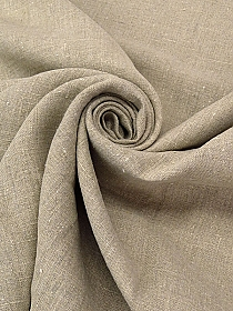 Sandstone Gray 100% Polyester Spacer Mesh Knit 62W