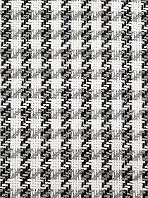 White/Gray/Black 100% Cotton Boucle Plaid Suiting - NY Designer - 64W