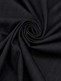 Black/Warm Gray 100% Wool Pinstripe Fine Crepe Suiting - Imported From Italy - 61W