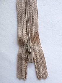 "Beige YKK Zipper 9"" Long Quantity of 1"