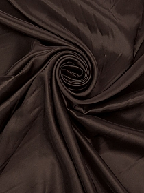 Mocha/Redwood/Black 100% Silk Abstract Chiffon - Imported From Italy - 50W