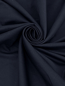 White/Black Cotton/Polyester Stripe Crinkle Voile - Milly - 44W